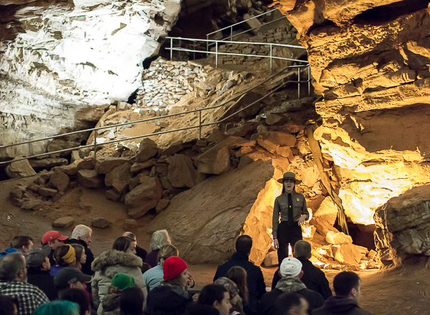 Mammoth Cave tours with kids