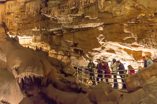 Mammoth Cave Kentucky with kids