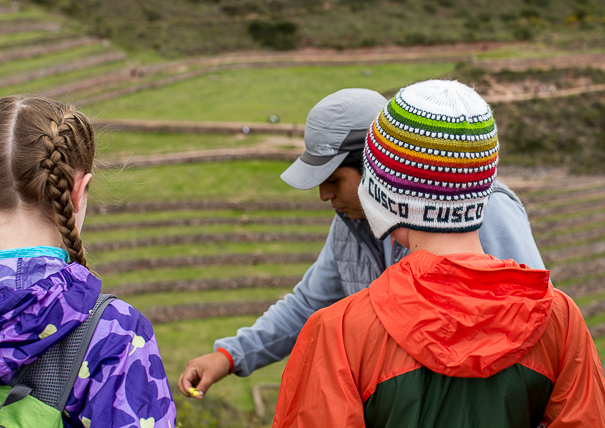 Moray Peru with kids