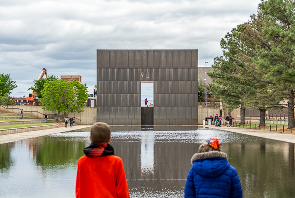 Oklahoma City National Memorial with kids
