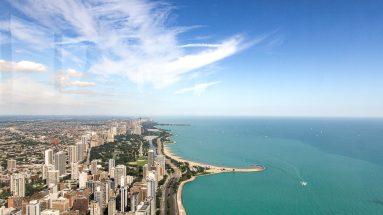 360 Chicago Skyline