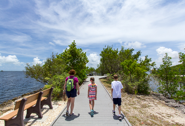 Hiking at Biscayne National Park