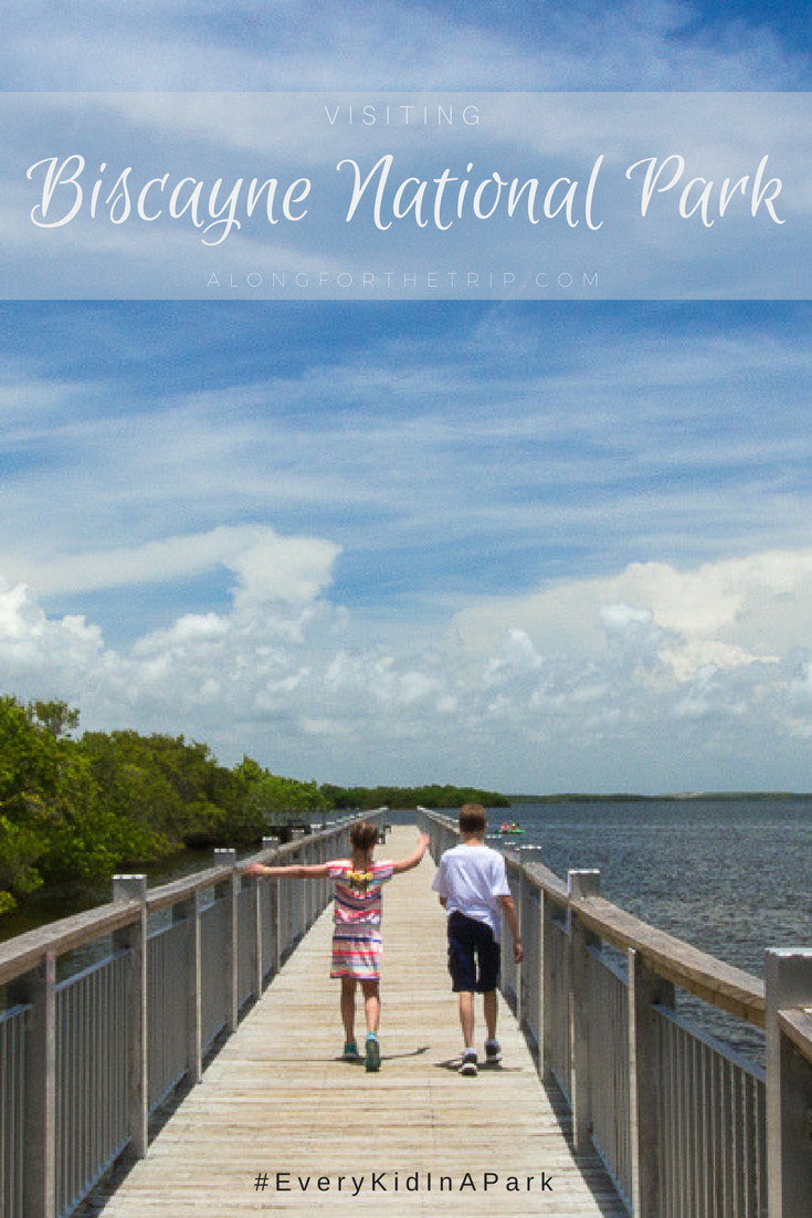 Biscayne National Park is only a short drive from Miami, Florida but feels worlds away. With 95% of the park being covered in water, boats and watercraft are the perfect way to explore this incredible park. Come read why you shouldn't skip this beautiful spot on your next trip to Florida. | #Biscayne #NationalPark #EveryKidInAPark #Florida