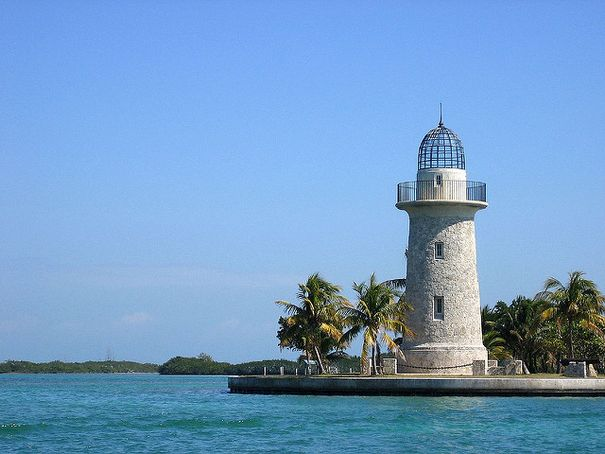Lighthouse at Boca Chita Key - Biscayne National Park