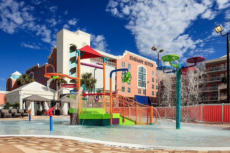 kid themed hotels in Orlando - Embassy Suites Orlando - Lake Buena Vista Resort