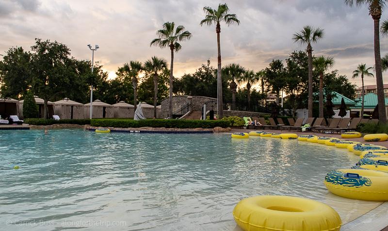 Hilton Orlando Bonnet Creek pool - Orlando family resorts