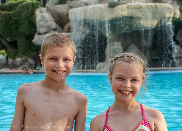 Pools at the Hyatt Regency Grand Cypress Orlando FL