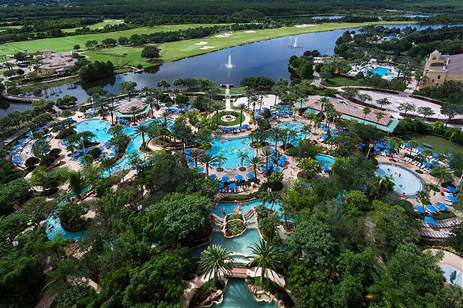 JW Marriott Orlando Grande Lakes - best resorts in Orlando area