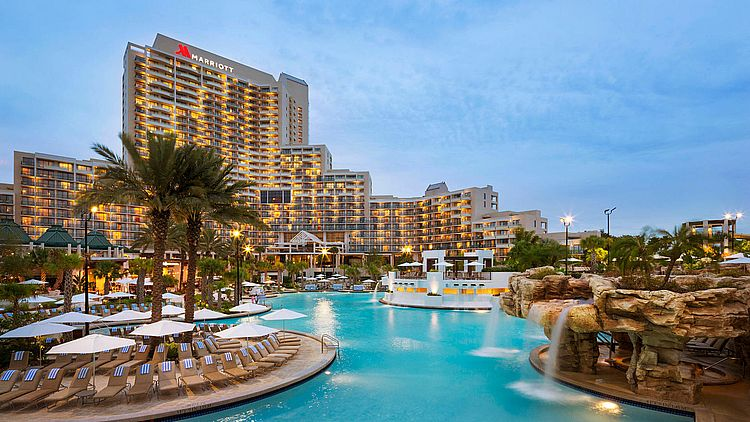 Best hotels in Orlando - Orlando World Center Marriott