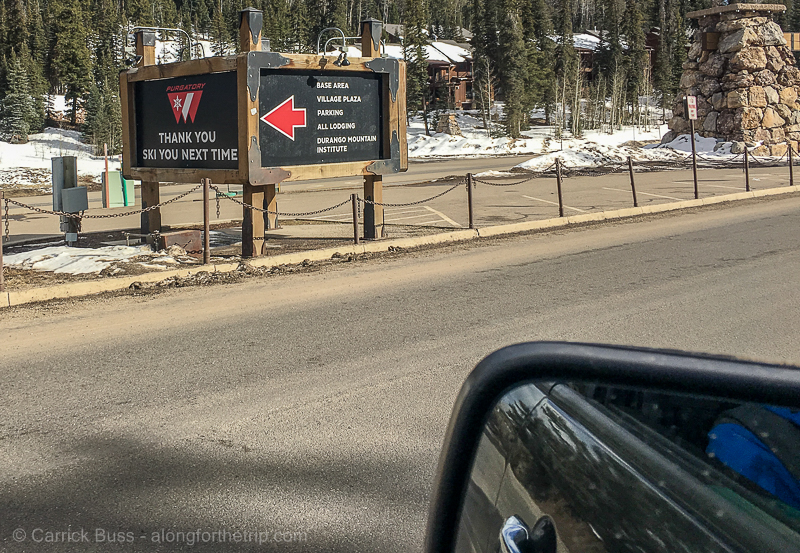 Purgatory Ski Resort entrance