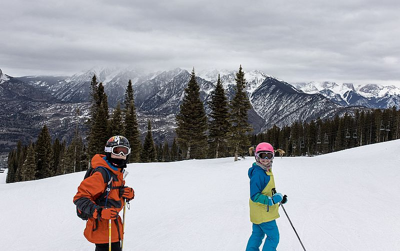 Purgatory Resort Durango Colorado - best Colorado ski resorts for families