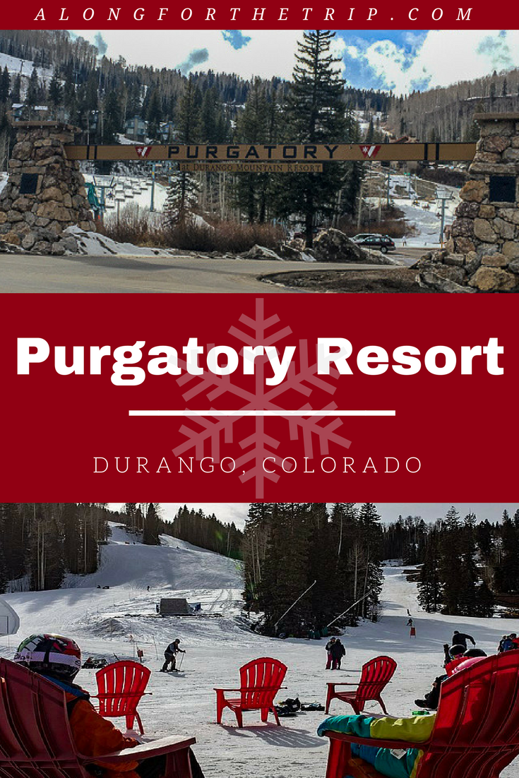 Purgatory Ski Resort is a small #Colorado resort that's big on family fun. Skip the expensive resorts and head to Durango to ski Purgatory for your next ski vacation. You get all the snowy fun for half the price! | #familyskitrip #familytravel #ski