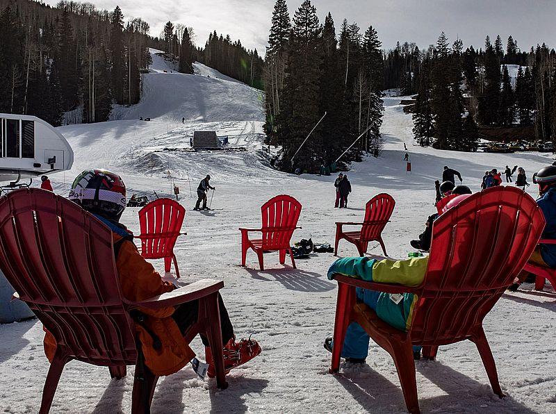 Ski Beach at Purgatory Resort Durango Colorado
