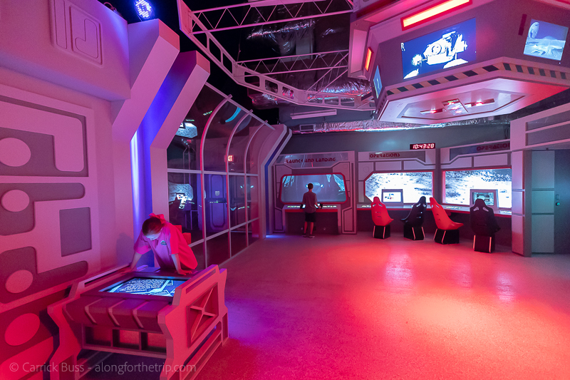 Moonbase MOSI - one of the best museums for families in Tampa