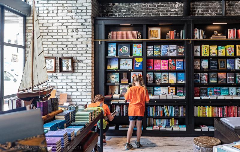 Book shopping at Oxford Exchange Tampa
