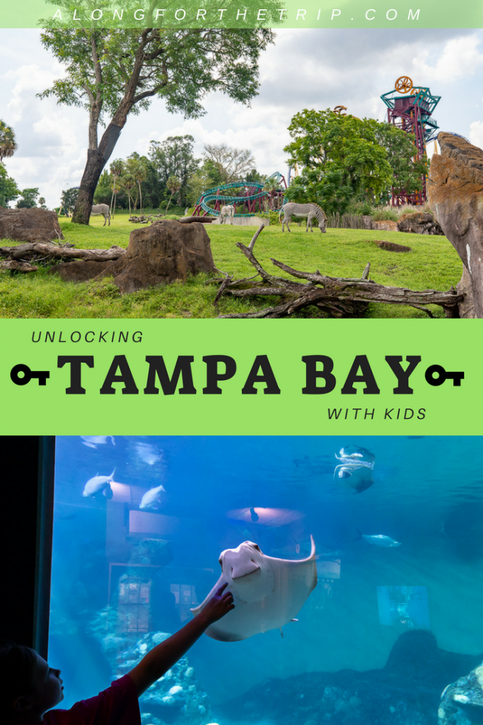 Tampa Bay FL is full of family adventure, but not nearly as crowded as Orlando. Make the hour-long drive over to see all that Tampa Bay with kids has to offer. You'll find world-class theme parks, kid-friendly museums, and delicious food. What's not to love? | #familytravel #TampaBay #takethekids