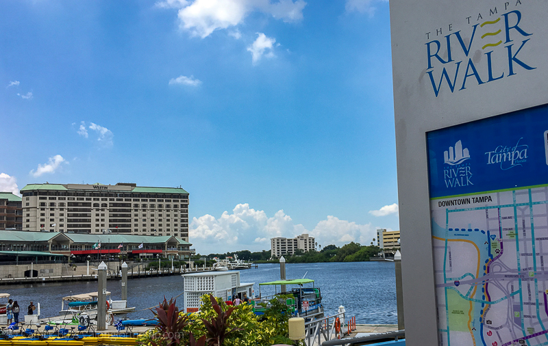 Exploring the Tampa River Walk with kids