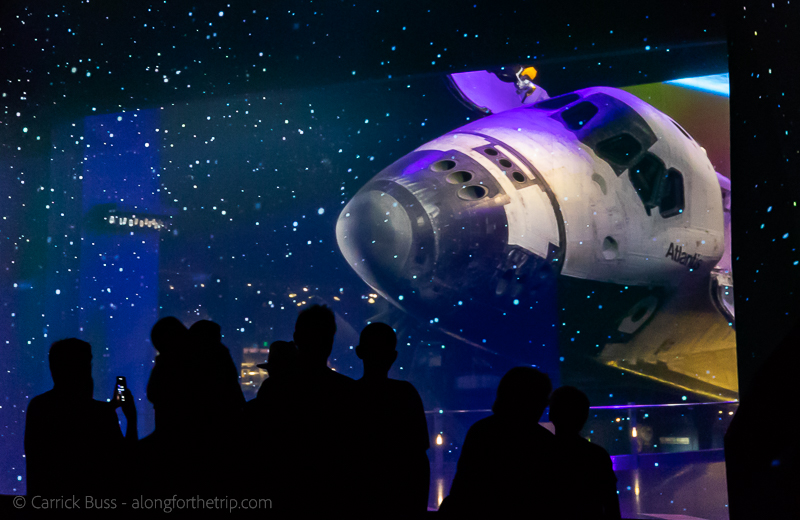 Space shuttle Atlantis - what to do at Kennedy Space Center