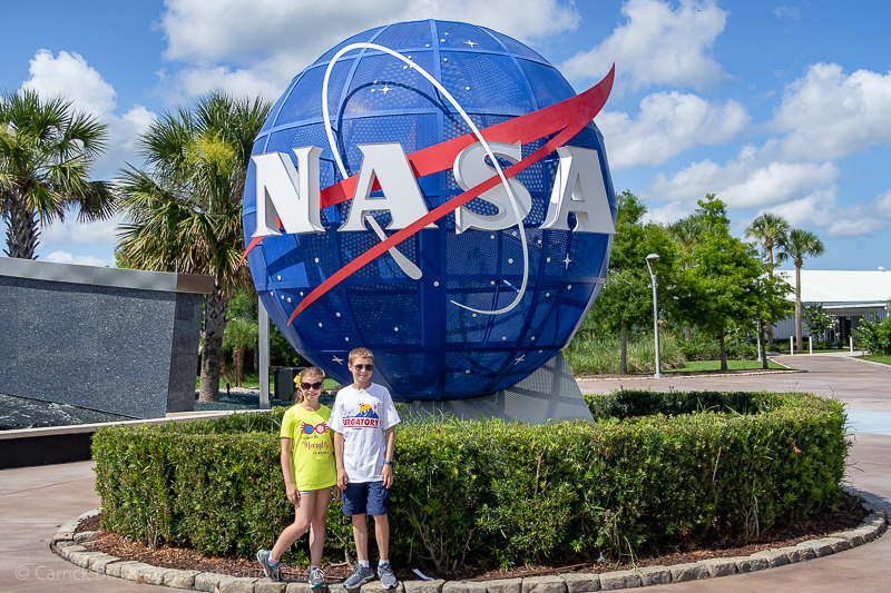 Florida's Space Coast - Kennedy Space Center with kids