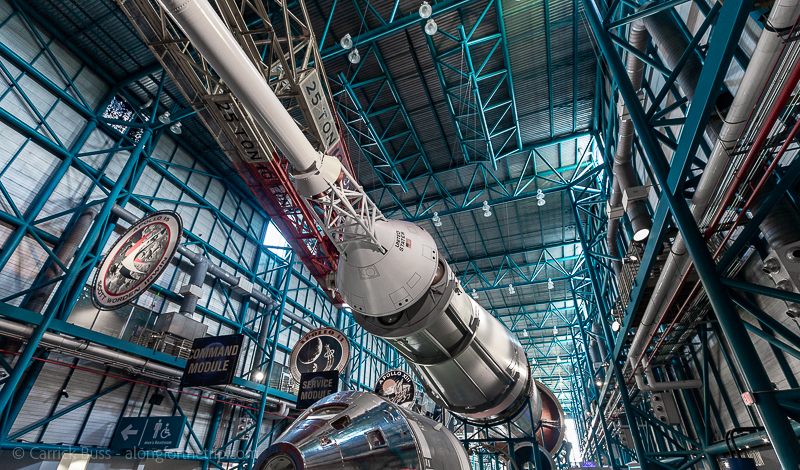 Best things to do at Kennedy Space Center - visit the Saturn V Rocket