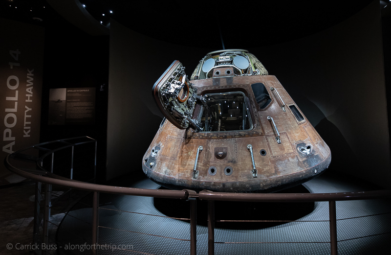 Apollo capsule at Kennedy Space Center