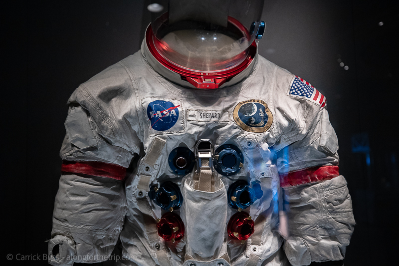 Alan Shepard's space suit at Kennedy Space Center