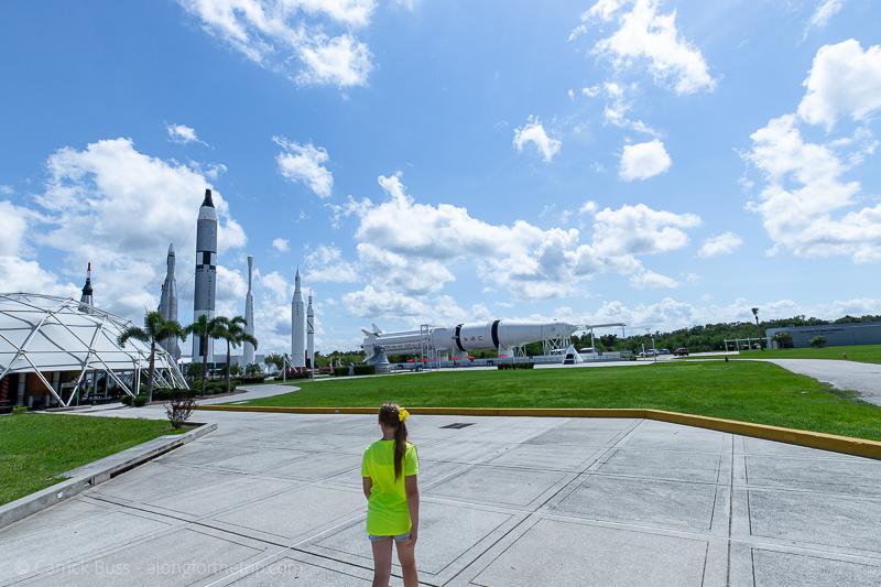 Rocket garden Kennedy Space Center