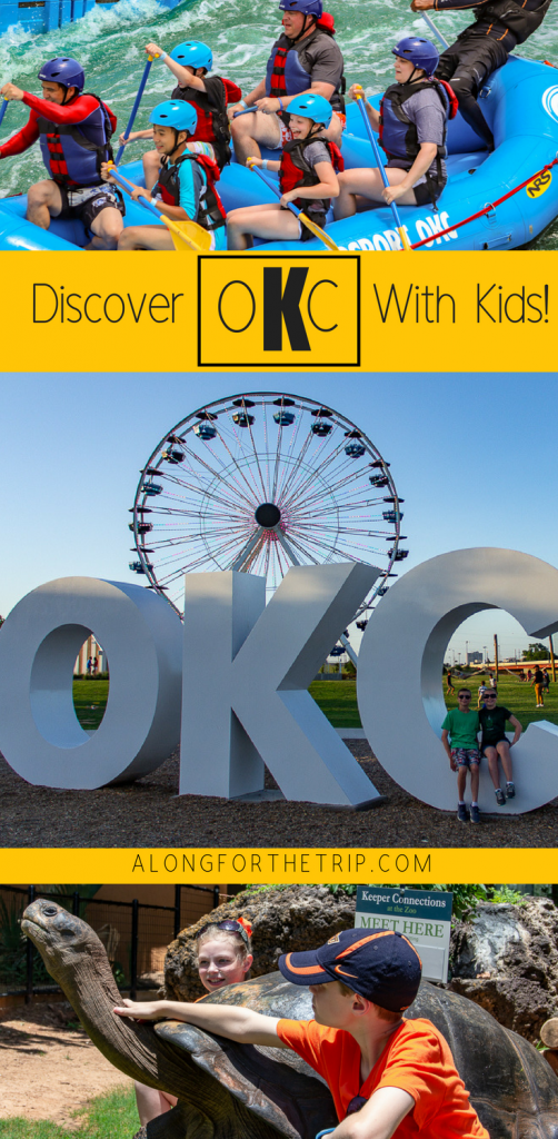 There is no shortage of things to do with kids in OKC. From the world-class whitewater facility at Riversport Adventures to animal encounters at the zoo, there's plenty for families to love. Come discover #OklahomaCity and start planning your trip today! | #familytravel #OKC #SeeOKC