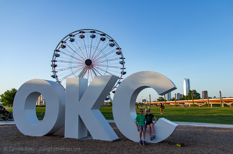 OKC Wheel - things to do with kids in OKC
