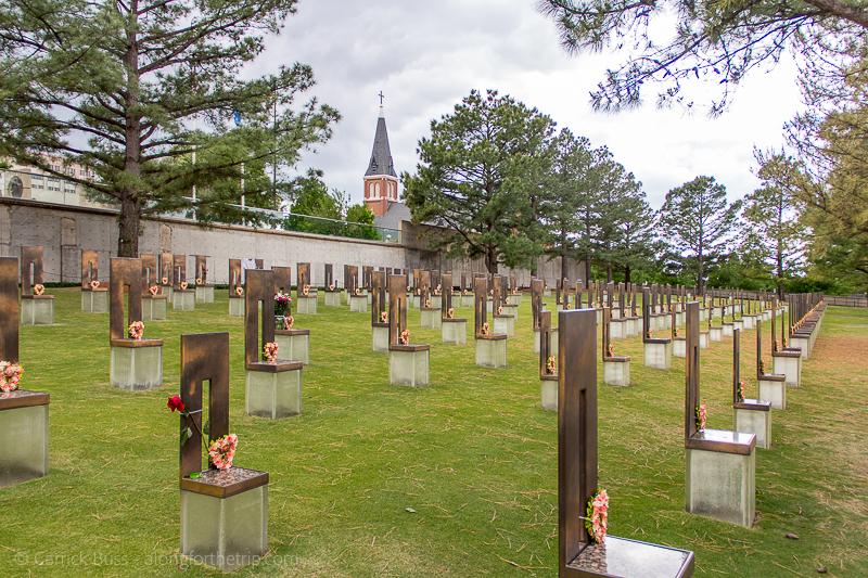 Oklahoma City National Memorial - places to go in Oklahoma City