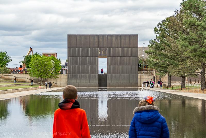 Oklahoma City National Memorial - Reflecting Pool