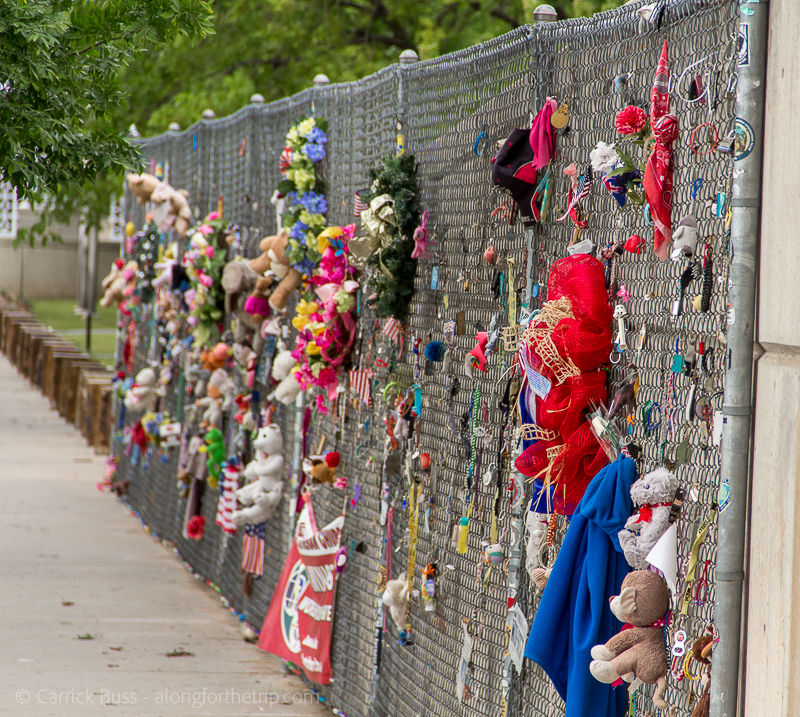Oklahoma City National Memorial Wall