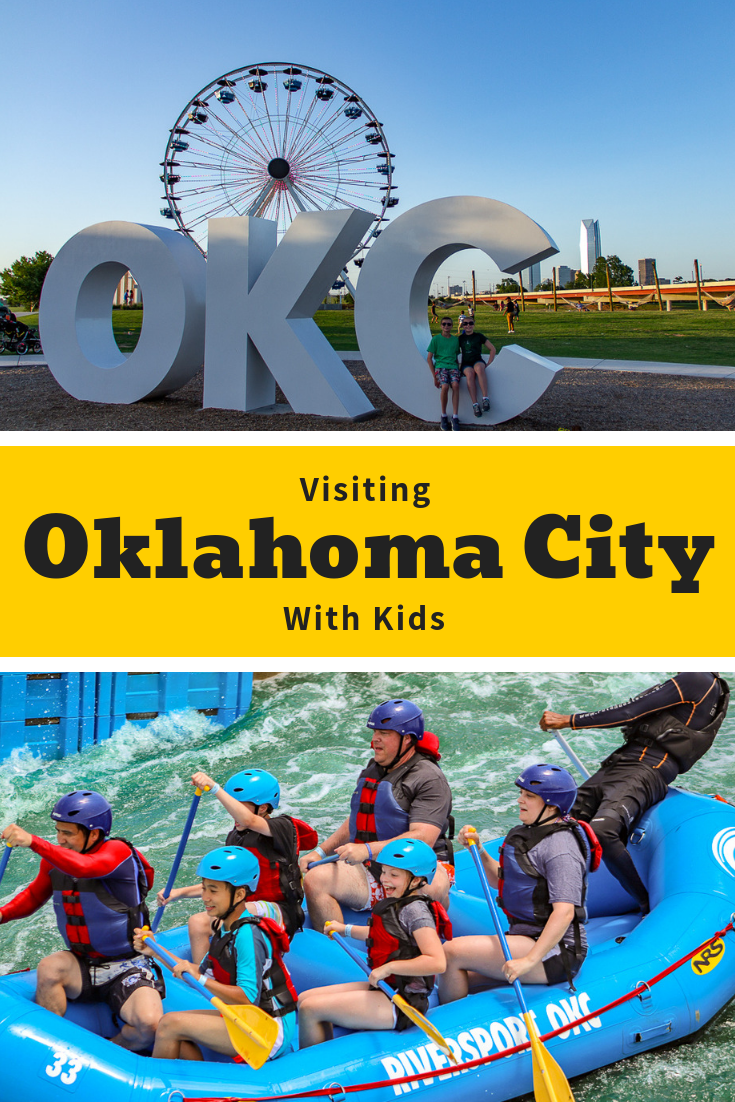 There is no shortage of things to do with kids in Oklahoma City. From the world-class whitewater facility at Riversport Adventures to animal encounters at the zoo, there's plenty for families to love. Come discover #OklahomaCity and start planning your trip today! | #familytravel #OKC #SeeOKC