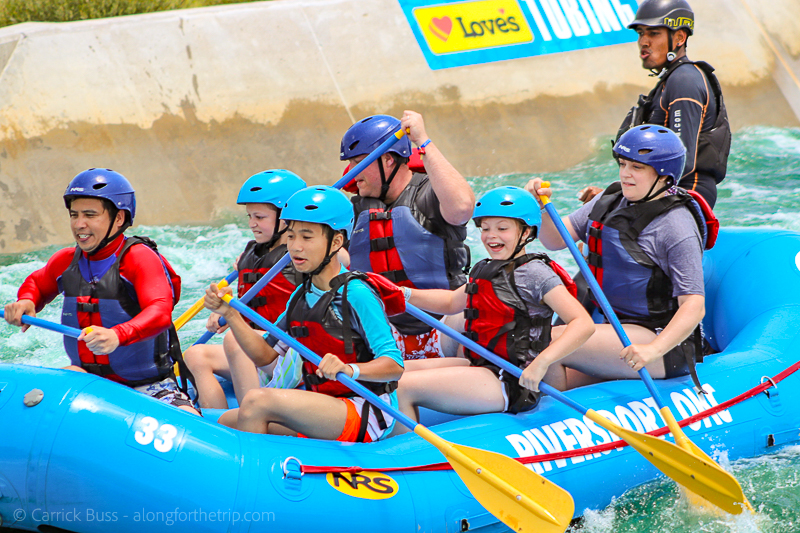 Rafting with Riversport Adventures OKC - family activities in OKC