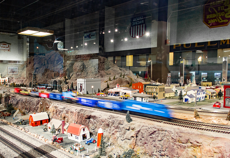 Model trains at Science Museum OKC - things to do for families in OKC