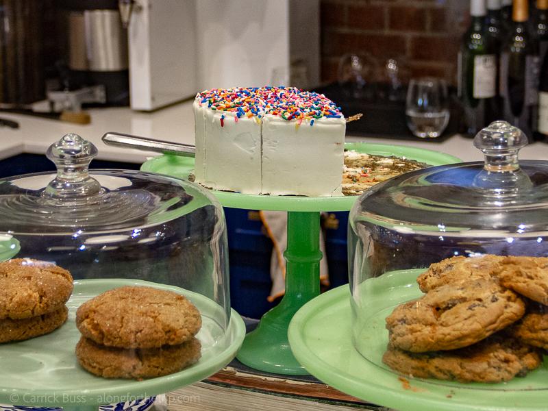 The Halls Pizza Kitchen dessert - best food for kids in OKC