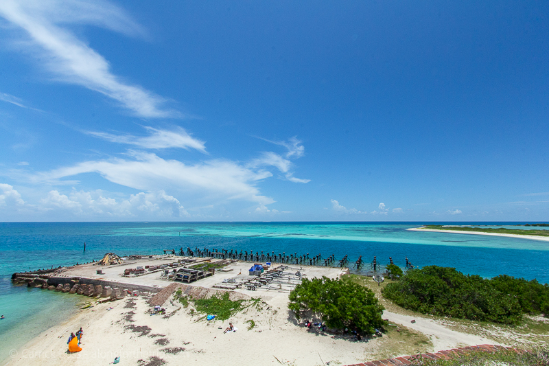 Views from Fort Jefferson - Dry Tortugas National Park