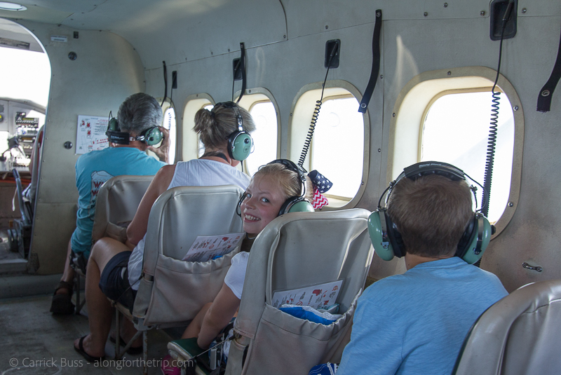 Seaplane to Dry Tortugas with kids
