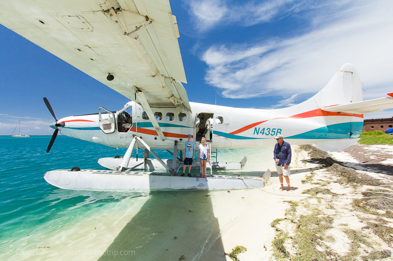 Seaplane from Key West to Dry Tortugas