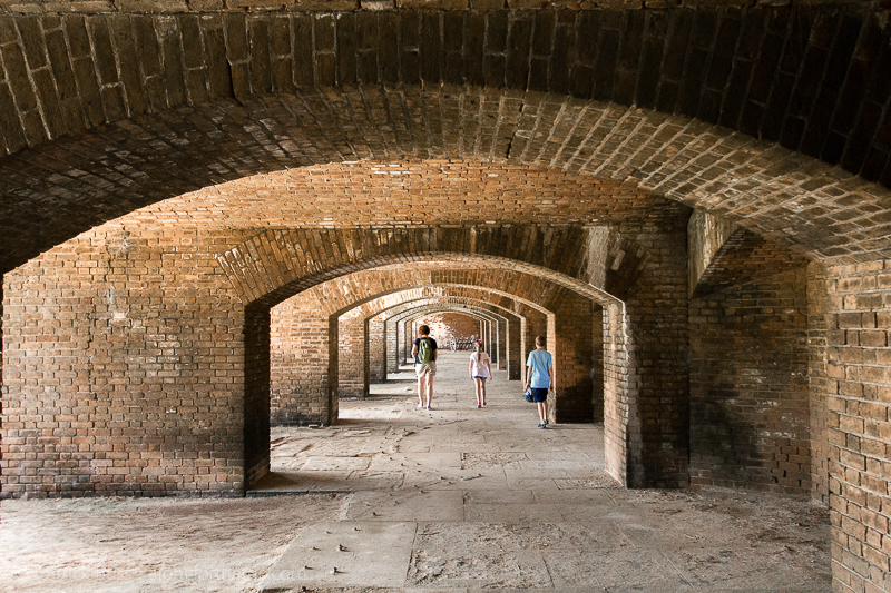 Fort Jefferson - Dry Tortugas National Park with kids