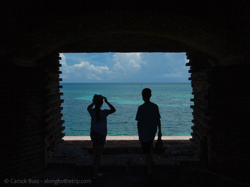 Dry Tortugas with kids