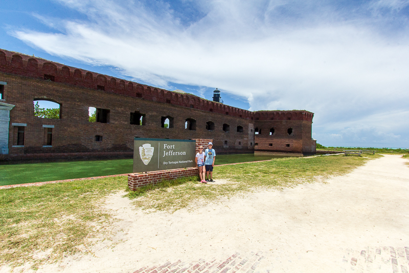Fort Jefferson - Dry Tortugas National Park entrance