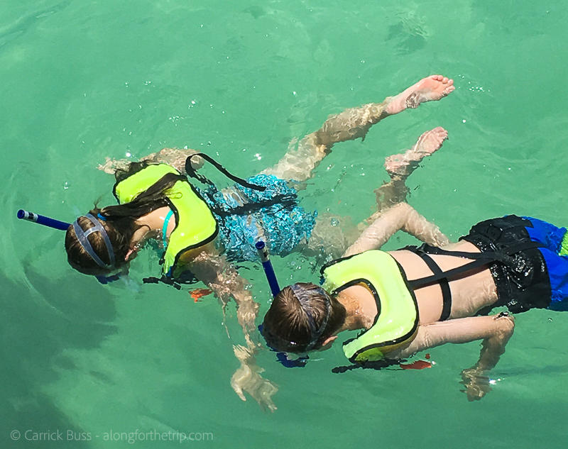 Dry Tortugas Snorkeling with kids