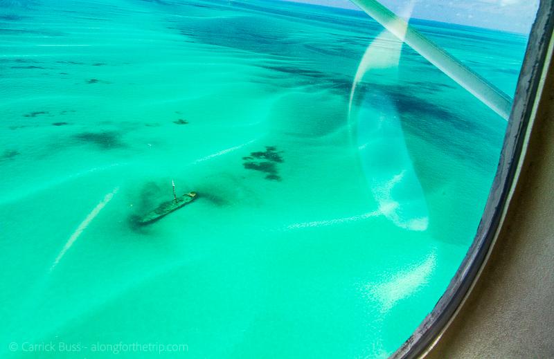 Dry Tortugas Seaplane - shipwreck