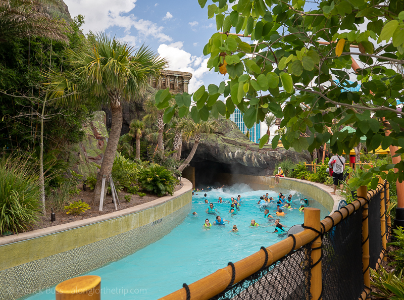 TeAwa River at Universal's Volcano Bay Florida
