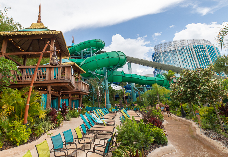 Volcano Bay Florida slides