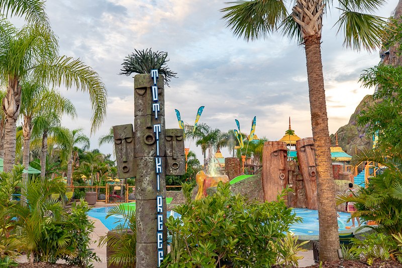 Tot Tiki Reef at Volcano Bay Florida