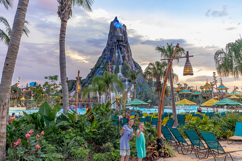 Universal's Volcano Bay - the best Orlando water parks