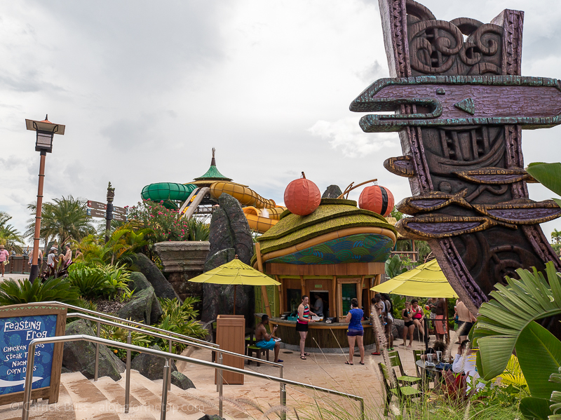 The Feasting Frog - Places to eat at Volcano Bay Orlando