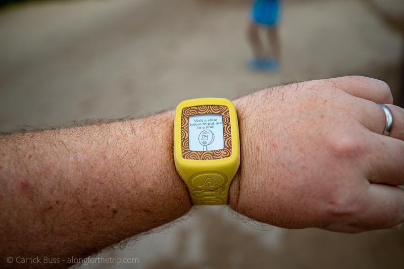 Universal's Volcano Bay TapuTapu wristband